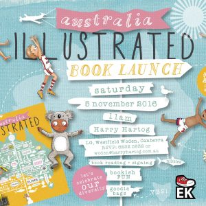 Australia Illustrated Book Launch